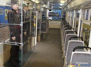 В Ростове по маршруту № 1 начал курсировать трамвай-музей