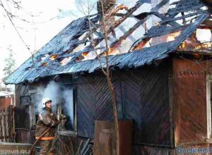 В Ростовской области на пожаре погиб инвалид