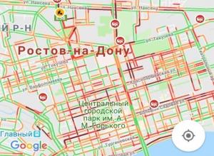 Дикий вторник: Ростов сковали 10-бальные автомобильные пробки