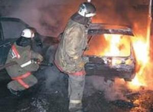 В поселке Щепкино под Ростовом сгорели три автомобиля