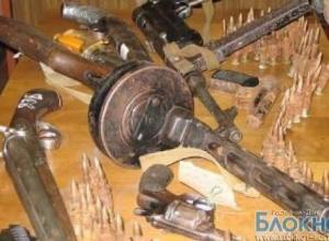 В Ростовской области полицейские изъяли оружие и боеприпасы времен Великой отечественной войны