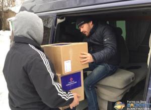 В Ростове волонтеры продолжают сбор гуманитарной помощи Донбассу