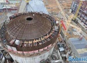 На Ростовской АЭС установили 165-тонный купол