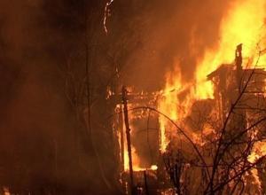 В Ростове на пожаре в частном доме погибли пять человек