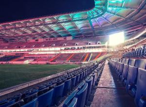 На новом стадионе установили порядка 20% зрительских мест