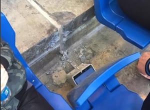 Антивандальные сидения не выдержали испытаний уже во время первого футбольного матча на «Ростов-Арене»