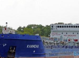 Танкер «Климена» сел на мель в районе порта Ростова-на-Дону