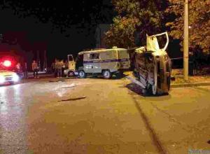 В Новочеркасске в ДТП разбился полицейский