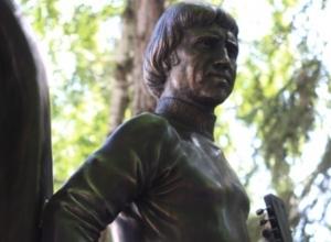 В Ростове-на-Дону открыли памятник Владимиру Высоцкому