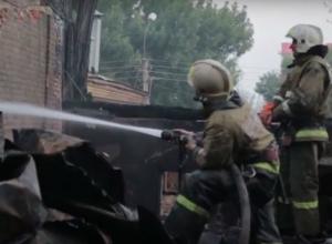 Грозивший уничтожить полцентра Ростова гигантский пожар полностью ликвидирован