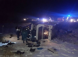 Состояние пострадавших в страшной аварии с автобусом ростовчан оценили как удовлетворительное