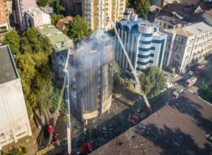 Сгоревший бизнес-отель в Ростове был предметом дележки  между супругами