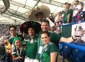 Поклоняющиеся «психу» Лосано мексиканцы дико раскачали «Ростов-Арену» после важных голов