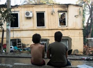 После пожара в центре Ростова без крыши над головой остались 218 семей
