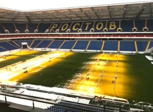 Заснеженная «Ростов-Арена» изнутри: гордость Дона показала главные секреты