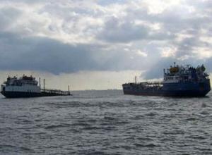 В акватории Дона столкнулись два танкера