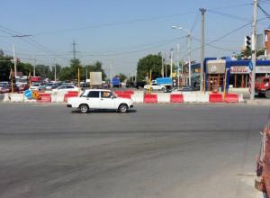 Движение на Стачки в Ростове ограничат из-за ремонта дороги
