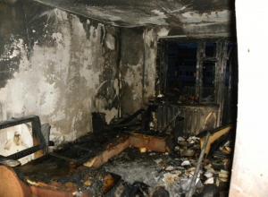На пожаре в Каменске-Шахтинском погибли два человека