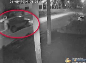 Появилось видео погони за пьяными военнослужащими, устроившими в Ростове ДТП на бронемашине «Тигр»