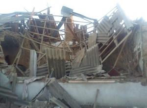 В Пролетарске двое жильцов одноэтажного дома пострадали из-за хлопка газа
