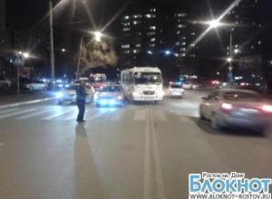 В Ростове водитель маршрутки спровоцировал ДТП: пострадали три человека