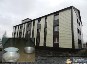 В энергоэффективном доме в Гуково произошел потоп
