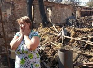 Ростовских погорельцев назвали неблагодарными и не ценящими помощь