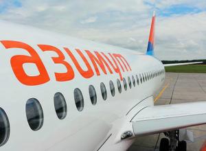 Авиакомпания «Азимут» назвала свой самолет в честь реки Дон