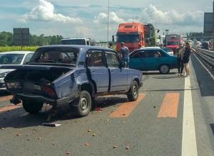 Подробности страшной аварии из-за пешехода под Ростовом рассказала чудом выжившая семья