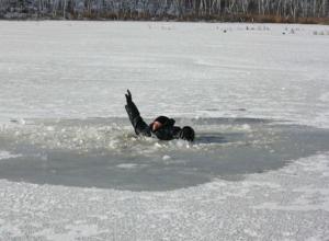 Ушедшего под лед по горлышко мужчину вытащили из замерзшего водохранилища Ростовской области