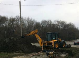 Серьезная коммунальная авария оставила без воды жителей трех улиц и одного поселка Ростова