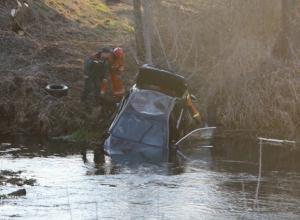 Попытка автоледи «перепрыгнуть» реку на BMW закончилась провалом в Ростовской области