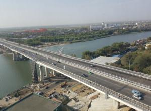 Ворошиловский мост открыли в Ростове после нескольких лет ожидания