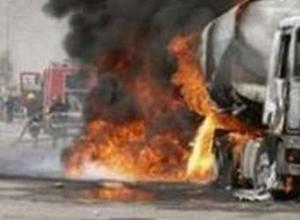 В Ростовской области рядом с лакокрасочным заводом взорвалась автоцистерна: 1 погиб, 3 ранены