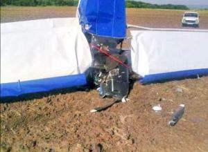 Легкомоторный самолет разбился в Белокалитвинском районе