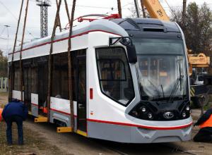До конца текущего года по Ростову начнут курсировать 13 новых трамваев