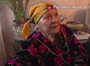 Ветеран ВОВ из Каменска-Шахтинского рассказала о подростках, совершивших на нее разбойное нападение. Видео