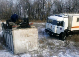 В Ростовской области «ГАЗель» съехала в кювет и перевернулась