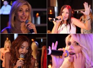 Первое музыкальное испытание преодолели участницы конкурса «Мисс Блокнот Ростов-2017