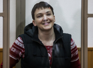 Украинская летчица Надежда Савченко объявила сухую голодовку