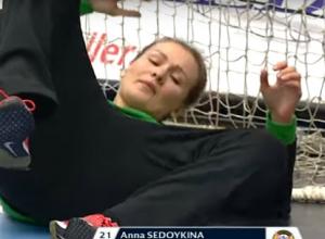 Спасение вратаря ГК «Ростов-Дон» признано самым зрелищным во втором туре Лиги Чемпионов