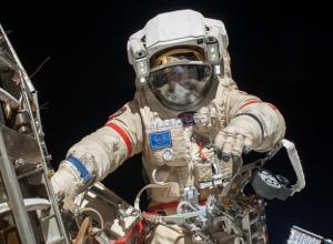 Потрясающий вид Ростова из космоса сделал астронавт на День города
