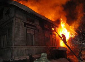 Пожар в Ростовской области унес жизнь 91-летней старушки