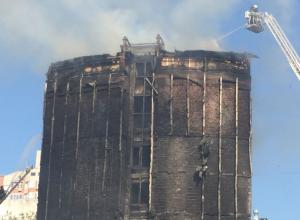 Стала известна дальнейшая судьба сгоревшего отеля в историческом центре Ростова