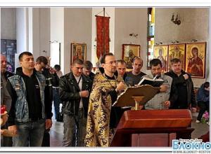В Ростове байкеры получили благословение на новый сезон и добрые дела