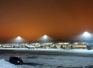 Невероятно красивое фото аэропорта «Платов» под Ростовом появилось в Сети
