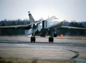 На аэродроме в Ростовской области при посадке загорелся бомбардировщик СУ-24