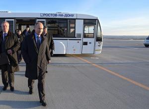 Путин в Ростове: аэропорт - понравился, Ростсельмашу - дадут еще