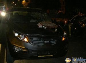 В Ростове возбуждено дело в отношении полицейского, сбившего 2 человек. Фото с места ДТП