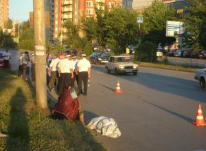 В Ростове лихач на BMW с номерами 005 насмерть сбил мужчину на пешеходном переходе